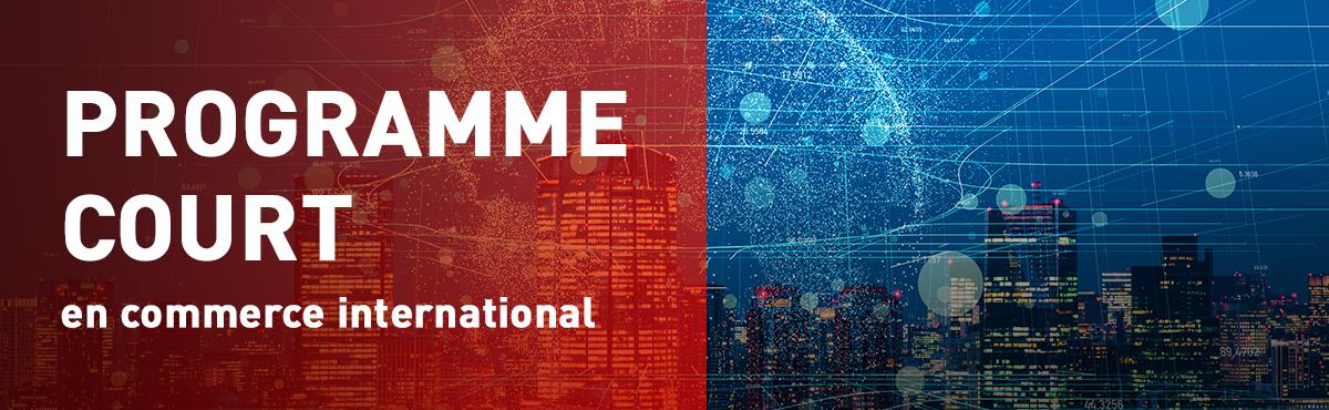 Programme court de 2e cycle en commerce international