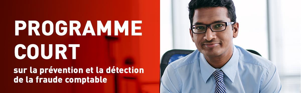 Programme court de 2e cycle sur la prévention et la détection de la fraude comptable