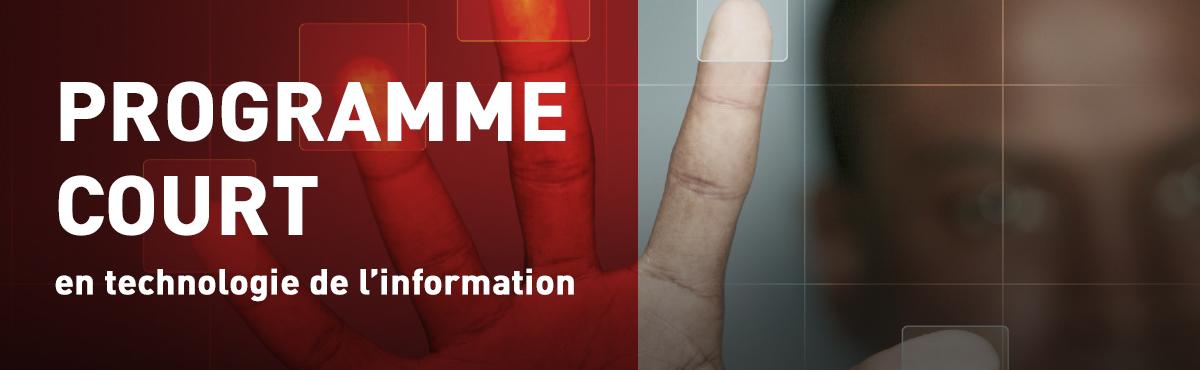Programme court de 2e cycle en technologies de l'information