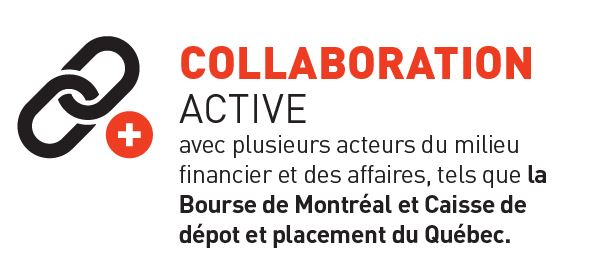La maîtrise en finance appliquée est en collaboration active avec la Bourse de Montréal et la CDPQ