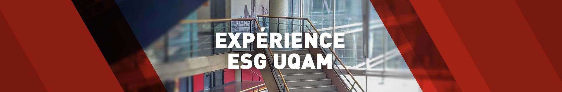Expérience ESG UQAM